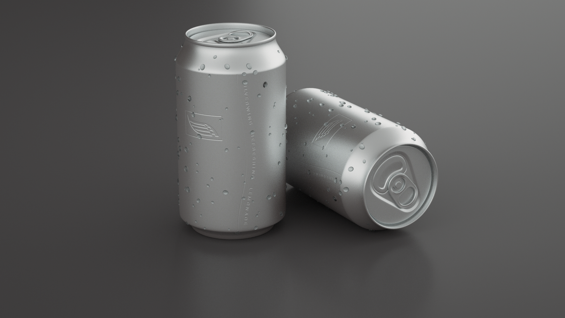 Lemonade can (Texturing, Octane Render, model courtesy of Raphael Rau)