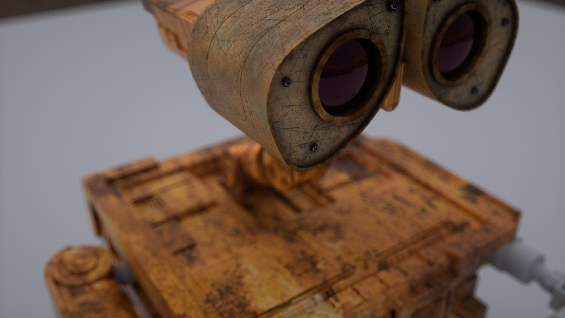 WALL-E (Procedural texturing, Octane Render)